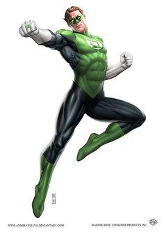 Green Lantern by AdmiraWijaya.deviantart.com on @deviantART