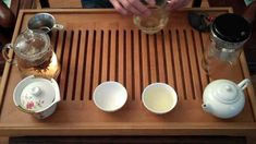 How to correctly brew tea (chinese). especially good for rinsing non-organic teas..