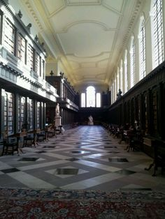 Codrington Library, Oxford UK