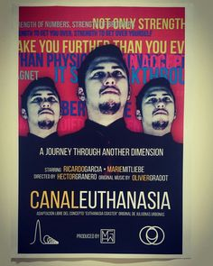Poster of our first short movie Canal Euthanasia https://www.youtube.com/watch?v=8Gzj7HfsvGg