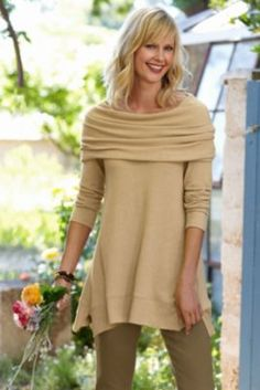 B'call Tunic from Soft Surroundings..just lovely....pricey...but may be worn many ways and often,