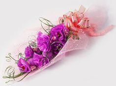 DIY edible candy bouquet
