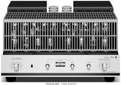1966 Technics 20A  左右独立2電源 OTLパーワーアンプ ¥135,000