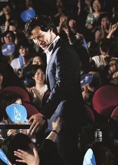 Benedict #Cumberbatch in Japan promoting STID 2013