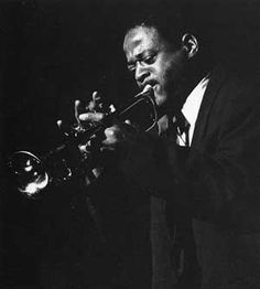 Clark Terry (born December 14, 1920 in St. Louis, Missouri), nicknamed Mumbles, is an American swing and bop trumpeter, a pioneer of the fluegelhorn in jazz, educator, and NEA Jazz Master...played with Charlie Barnet (1947), Count Basie (1948-1951), Duke Ellington (1951 to 1959), and Quincy Jones (1960). He also performed and recorded regularly both as a leader and sideman. In all, his career in jazz spans more than sixty years.