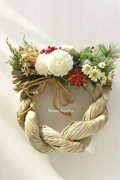 お正月しめ縄リース | Honey Garden アトリエ日記