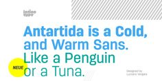 Antartida font download