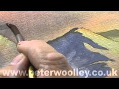 Watercolour Tip from PETER WOOLLEY: Cloud Inversions