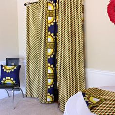 This beautifully vibrant table runners will make any space feel alive! All the colors and designs are sure to bring a little bit of Africa to any space. Excellent choice for table decor for an African theme home decor or party. Living Room Decor Curtains, Bedroom Decor, African Interior Design, African Home Decor, Printed Curtains, Curtain Designs, Home Decor Accessories, Boutique, Table Runners
