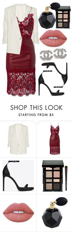 """""""Sin título #774"""" by alejandramalagon ❤ liked on Polyvore featuring Helmut Lang, Yves Saint Laurent, Bobbi Brown Cosmetics, Chanel and Lime Crime"""