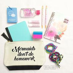Back to school pencil case | Teacher Gifts www.shoplululuxe.com