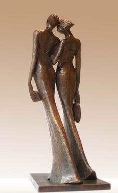 Best Night Ever | Bob Quinn Modern Art Sculpture, Abstract Sculpture, Human Sculpture, Bob Quinn, Best Night Ever, Human Art, Human Human, Small Words, Art Object