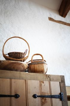 inability to focus. Herb Farm, Earth Color, Farm Life, Country Life, Wood, Homestead, Baskets, Neutral, Cottage