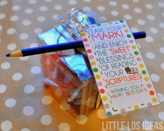 {Primary} 2016 Primary Birthday Gift Idea - Little LDS Ideas