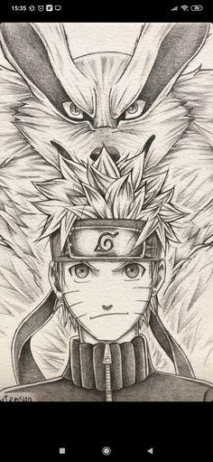 Kakashi Drawing, Naruto Sketch Drawing, Naruto Drawings, Anime Drawings Sketches, Cool Art Drawings, Anime Sketch, Naruto E Kurama, Manga Naruto, Naruto Shippuden Anime