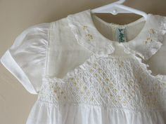Baby Girl Smocked and Embroidered Dress