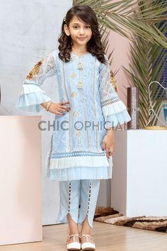 Jj Dresses, Kids Party Wear Dresses, Girls Dresses Sewing, Kids Dress Wear, Stylish Dresses For Girls, Frocks For Girls, Stylish Dress Book, Pakistani Kids Dresses, Pakistani Dress Design