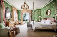 The Glam Pad: Palm Beach Entertaining, Mario Buatta, and a Pagoda Pool House