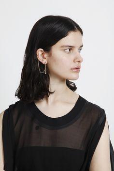 'The Bling Ring' Asymmetric Earrings