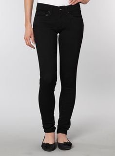 Black skinny jeans bunch up bottoms (with black flats) Dorothy Perkins