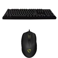 CM Storm QuickFire XT Gaming Keyboard with CHERRY MX Brown Switches and Mionix Castor Gaming Mouse