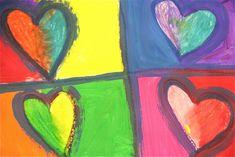 Splish Splash Splatter: Jim Dine Valentines