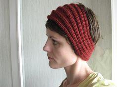Knitting Hats, Bonnets, Scarfs, Pattern, Free, Design, Fashion, Bandeaus, Loom Knit