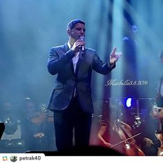 Thanks for the share 'Tribute to Mr Izambard Sebdivo and #sebcharity' and @petrak40:Sebastien Izambard #IL DIVO #amorypasion #tour2016 #starlite #marbella #ildivo #sebdivo