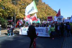 Großdemo gegen TTIP, CETA, TISA & Co. | Pankower Allgemeine Zeitung