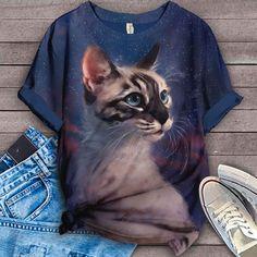 Cat Shirt Bird Shirt, Cat Shirts, This Is Us, Tees, Poster, Animals, T Shirts, Animales, Animaux