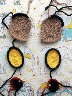Simba 005 Crochet Eyes, Love Crochet, Crochet Stitches, Knit Crochet, Crochet Baby Toys, Crochet Animals, Crochet Dolls, Amigurumi Patterns, Doll Patterns