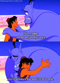 Genie-Aladin moment