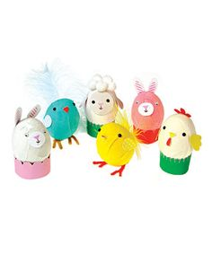 Another great find on #zulily! Funny Bunnies Egg Decorating Kit by Meri Meri #zulilyfinds