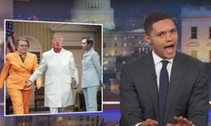Trevor Noah: 'Of course Donald Trump is pleased with the firestorm that he created. He's a social pyromaniac. Human Skin Color, Trevor Noah, To Vent, Narcissistic Sociopath, Stephen Colbert, Feeling Loved, Body Language, The Only Way