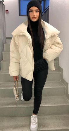 Baddie Outfits Casual, Casual Winter Outfits, Winter Fashion Outfits, Classy Outfits, Stylish Outfits, Fall Outfits, Winter Mode, Mode Inspiration, Mode Outfits