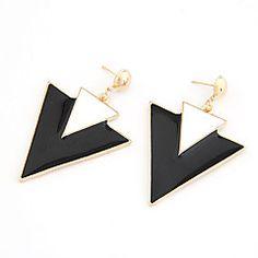 Punk Style Alloy acryl Dubbel-driehoek patroon oorbellen (ve... – EUR € 1.77