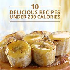 10 Delicious Dessert Recipes Under 200 Calories!  #skinnydessert #dessertrecipes #desserts