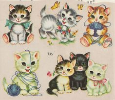 All sizes | Kitten Decals | Flickr - Photo Sharing!