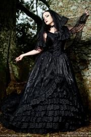 The Black Gothic Wedding Dress by Sinister PRE-ORDER