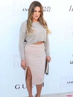 Khloe Kardashian Attends the Women in Entertainment Breakfast