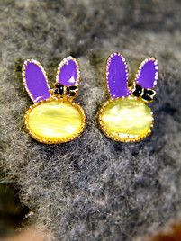$10 Playful Bunny Earrings at https://shopsto.re/items/4093 #accessories #jewelry #earrings