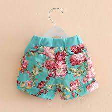 Resultado de imagem para pantalones cortos de niñas Short Niña, Zen, Trunks, Shorts, Sewing, Swimwear, Pattern, Fashion, Clothing Templates