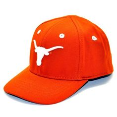 Texas Longhorns Infant One-Fit Hat Top of the World. $12.94. Patented One-Fit sizing. A great gift for the baby fan in your life. Team color brushed cotton infant One-Fit hat. Primary 3D logo on embroidered on the front. wool. Tagless technology for a better fit. Save 19% Off!