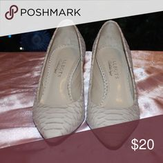 ✨ Talbots ✨ sexy heels Gorgeous genuine leather Talbot shoes. These shoes are the definition of professional.  Shoes have only been worn a couple times however there is a small imperfection on the back heel of the right shoe. This is shown in pictures and price reflects. Talbots Shoes Heels