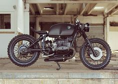 'Black Baron' BMW R100S 3