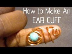 (35) Jewelry Making  How To | Ear Cuffs! Very EZ! - http://jewelry.artpimp.biz/pins/35-jewelry-making-how-to-ear-cuffs-very-ez/