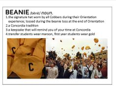 What does the Concordia College Cobber beanie mean to you? #cordmn