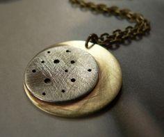 Telihold 1 (n1204), Ékszer, óra, Medál, Nyaklánc, Meska Pendant Necklace, Jewelry, Fashion, Moda, Jewlery, Jewerly, Fashion Styles, Schmuck, Jewels