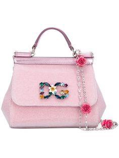 8ff3980eb3 Dolce & Gabbana Mini Sicily Crossbody Bag - Farfetch Unique Handbags, Best  Handbags, Classic