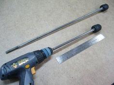 Perceuse/visseuse longue portée / Long Reach Drill/Driver | Atelier du Bricoleur (menuiserie)…..…… Woodworking Hobbyist's Workshop